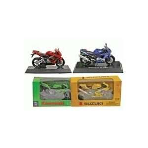 pc Set in Six Styles, Scale 118 (Street & Dirt Bikes) Toys & Games