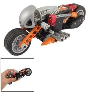 Como Black Gray Educational DIY Motorcycle Toy for