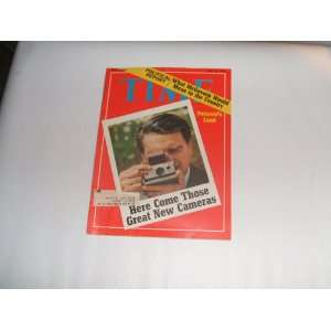 Polaroids Land Here Come Those Great New Cameras: Time Magazine