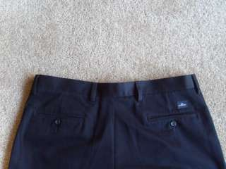 29 DOCKERS CLASSIC FIT Navy Khakis Pleated Cotton Chino Pants