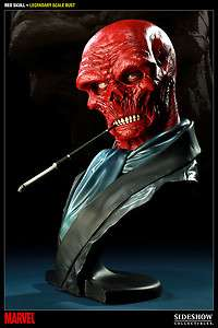 Sideshow Red Skull Legendary Scale Bust Exclusive