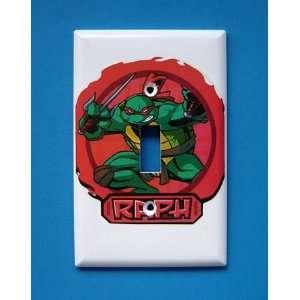 NEW Teenage Mutant Ninja Turtles TMNT Raphael Light Switchplate Switch