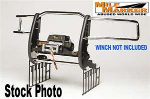 Marker Extreme Mount Winch Grille Guards Dodge Ram 1500 Black