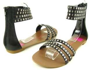 DOLCE VITA OSAKA Black Womens Shoes Sandals 11 M