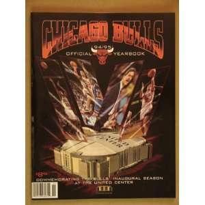 Chicago Bulls 1994/95 Team Yearbook Various Books