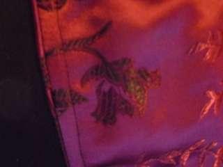 Tripp Purple Floral Corset Gothic Emo Punk Rave Lolita *Unused* Medium