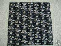 Baltimore Ravens NFL Football Fabric Bandana Pet Dog