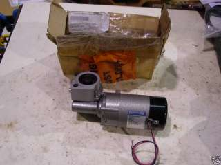 RIGHT ANGLE GEAR DRIVE MOTOR PARVALUX 24VDC NEW
