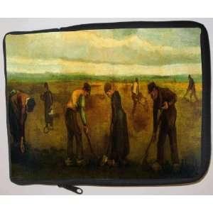 Van Gogh Art Farmers Laptop Sleeve   Note Book sleeve