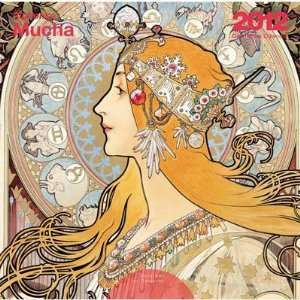 Mucha Paintings 2012 Wall Calendar Arts, Crafts & Sewing