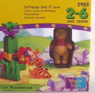 Winnie The Pooh Disney Tigger LEGO DUPLO 2983 Sealed Set