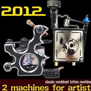 Tattoo 2 Machines Gun high quality professional Equipment Set D254