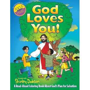 God Loves You Coloring Book (9780830723294) Shirley Dobson Books