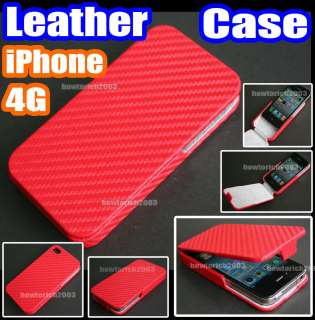RED Card Holder Wallet Leather Case Cover Pouch+strap for Apple iPhone