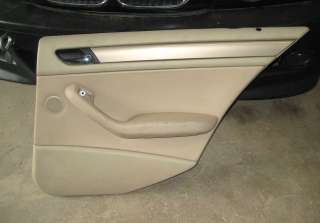 BMW E46 Right Rear Door Panel Beige 323i 330i 325iT 328
