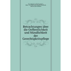 Feuerbach, Anselm von Feuerbach Paul Johann Anselm Feuerbach Books