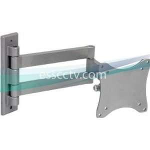 LCD LED Monitor Wall Mount, Tilt/Swivel, Double Arm, 33