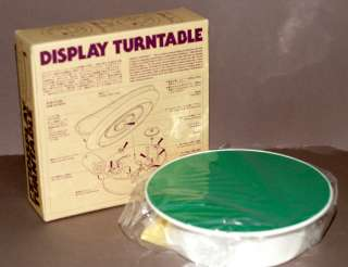 TAMIYA DISPLAY BATTERY OPERATED TURNTABLE FOR MODEL DISPLAY NEW IN BOX