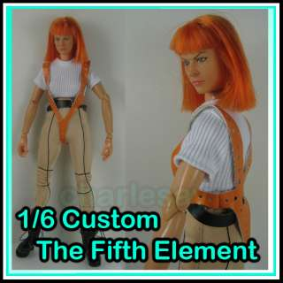 girl figure set  Milla Jovovich as Leeloo in The Fifth Element