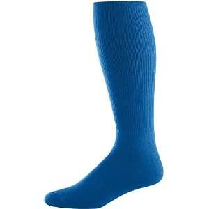 Soccer Tube Socks ROYAL ADULT (TUBE SOCK SIZE 10 13) Sports