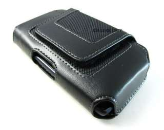 LEATHER VELCRO POUCH CASE SAMSUNG GALAXY S II EPIC TOUCH 4G SKYROCKET