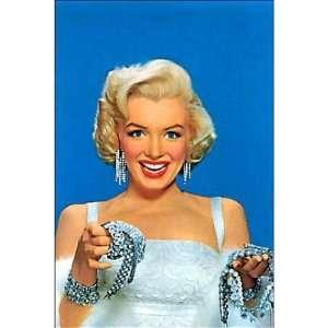 (4x6) Marilyn Monroe Diamonds POSTCARD SEXY