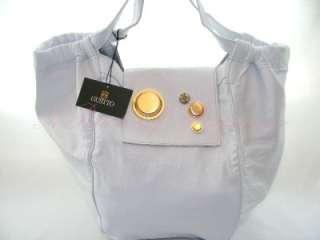 Gustto Estiva Large Leather Travel Shopper Tote Bag White 879895002129
