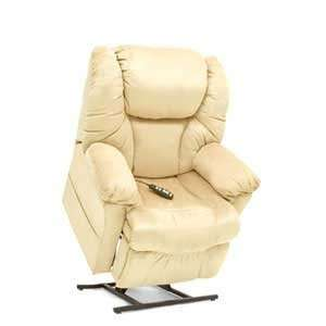 Pride 3 position full recline, chaise lounger, blown fiber