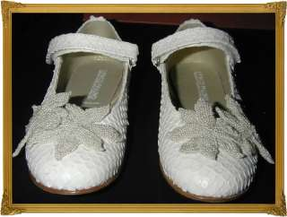 NWT*I PINCO PALLINO*SPECIAL OCCASION*WEDDING*FLOWER GIRL SHOES*32*UK 1