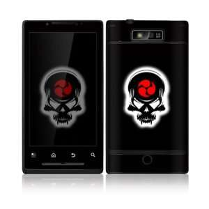Samurai Death Skull Design Decorative Skin Cover Decal Sticker for