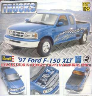 REVELL 1997 FORD F 150 XLT MODEL KIT 1/25 857215