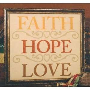 Faith   Hope   Love   Cross Stitch Pattern Arts, Crafts