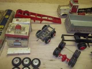 Trailer Model Kit Parts Lot AMT Peterbilt Tanker TONS OF PIECES