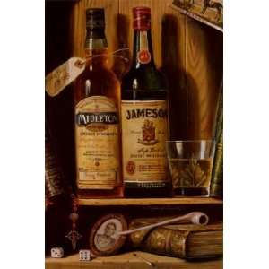 Jameson Irish Whiskey by Raymond Campbell 8x12 Kitchen