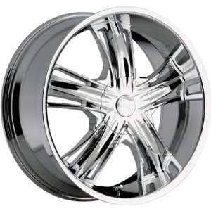 Incubus Banshee 20x9 Chrome Wheel / Rim 6x135 with a 35mm Offset and a