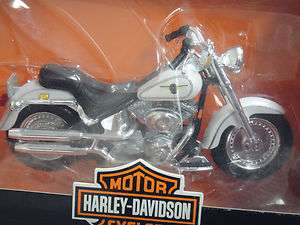 MAISTO Harley Davidson 2000 FLSTF Fat Boy Motorcycle Series #10 Scale