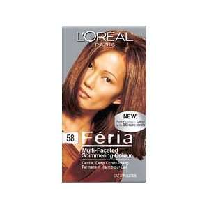 Loreal Feria # 58 Bronze Shimmer Size KIT Beauty
