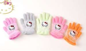 NWT Sanrio Hello Kitty Baby Girls Gloves Mittens (1pc)