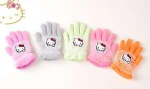 NWT Sanrio Hello Kitty Baby Girls Gloves Mittens (1pc)