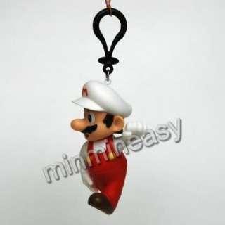 Nintendo Super mario Bros Figure Key Chain Charm of 4