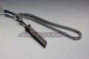 FINAL FANTASY Cloud Strife Sword Metal Key Chain/Strap