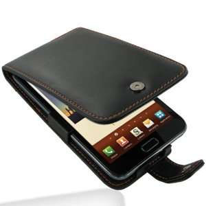Pdair Leather Flip Case Cover Samsung Galaxy Note AT&T