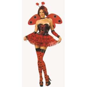 Ladybird Fancy Dress Costume Deluxe 8 pce set SizeSize US
