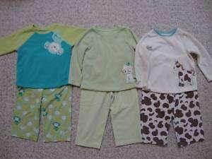 Toddler girl Carters fleece pajama sets