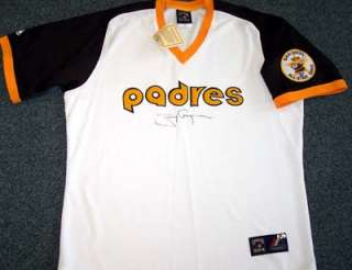 Tony Gwynn Autographed Signed Padres Jersey PSA/DNA #J47966