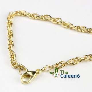 Enamel Swarovski Crystals Owl Pendant Necklaces G121103