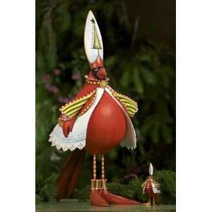 Patience Brewster Krinkles   Cardinal Display Figure   08 02053