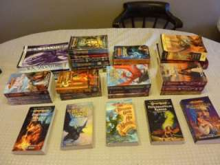 Lot 27 Dragon Lance + 2 Dungeons & Dragons Books Chronicles Legends