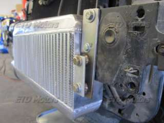 79 93 Fox Body Ford Mustang V8 5.0 3.5 Core Intercooler + Mounting