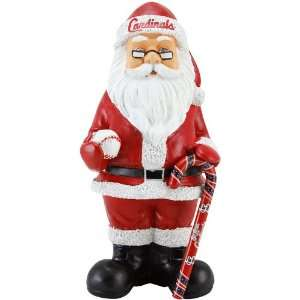 St. Louis Cardinals 11.5 Resin Team Santa Figurine
